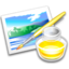 64x64px size png icon of App krita paint
