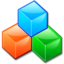 64x64px size png icon of Device blockdevice cubes