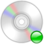 64x64px size png icon of Device cd rom mount