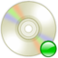 64x64px size png icon of Device cd writer mount