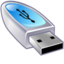 64x64px size png icon of Device usb drive