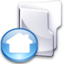 64x64px size png icon of Filesystem folder home 3