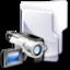 64x64px size png icon of Filesystem folder video