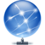 64x64px size png icon of network local