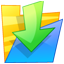 64x64px size png icon of Folder down