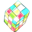64x64px size png icon of rubik cube