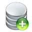 64x64px size png icon of data add