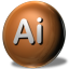 64x64px size png icon of Adobe Illustrator