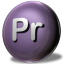 64x64px size png icon of Adobe Premiere