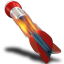 64x64px size png icon of Dart