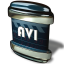 64x64px size png icon of File AVI