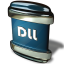 64x64px size png icon of File DLL