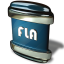 64x64px size png icon of File FLA