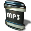 64x64px size png icon of File MP 3