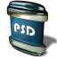 64x64px size png icon of File PSD