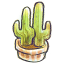 64x64px size png icon of G12 Flowerpot Cacti
