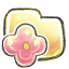 64x64px size png icon of G12 Folder Flower