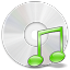 64x64px size png icon of CD Music