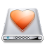 64x64px size png icon of Drives Favourites