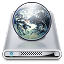 64x64px size png icon of Drives Sites