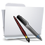 64x64px size png icon of Folders Applications