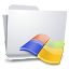 64x64px size png icon of Folders Windows