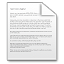 64x64px size png icon of Mimetypes Text Document