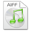 64x64px size png icon of Mimetypes aiff