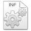 64x64px size png icon of Mimetypes inf