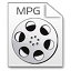 64x64px size png icon of Mimetypes mpg