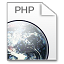 64x64px size png icon of Mimetypes php