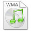 64x64px size png icon of Mimetypes wma
