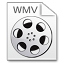 64x64px size png icon of Mimetypes wmv