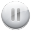 64x64px size png icon of Toolbar MP3 Pause