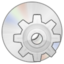 64x64px size png icon of CD System