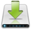 64x64px size png icon of Drives Downloads