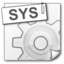 64x64px size png icon of File Types sys