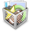 64x64px size png icon of Misc Recycle Bin Full