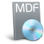 64x64px size png icon of File mdf