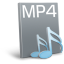 64x64px size png icon of File mp 4