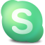 64x64px size png icon of Actions skype connecting