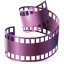 64x64px size png icon of Mimetypes divx