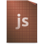 64x64px size png icon of Mimetypes javascript