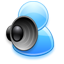 64x64px size png icon of Voice chat