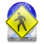 64x64px size png icon of iDisk User christmas light