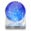 64x64px size png icon of iDisk christmas light