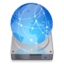 64x64px size png icon of iDisk dark