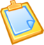 64x64px size png icon of Paste