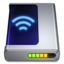 64x64px size png icon of AirPort Disk