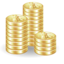 64x64px size png icon of Coins